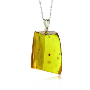 Genuine Mexican Amber Pendant
