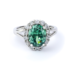 Alexandrite (Changing Color Gemstone) Silver Ring