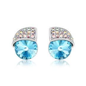 Beautiful Blue Earrings Swarovski