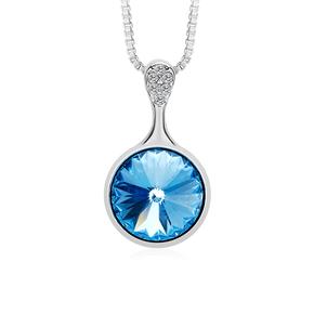 Cute Round Swarovski Necklace