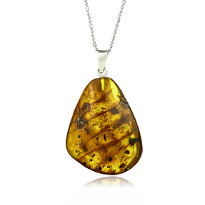 100% Natural Mexican Amber Pendant