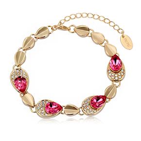 Elegant Bracelet With Golden Plated