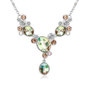 Beautiful Green Swarovski Necklace