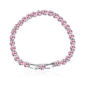 Pretty Pink Swarovski Crystal Bracelet
