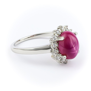 Beautiful Star Ruby Ring