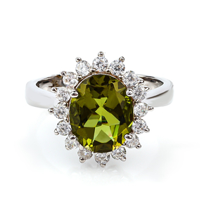 Color Change Oval Zultanite Sterling Silver Ring