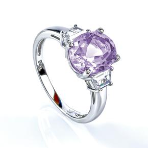 Alexandrite Ring Blue to Purple Change Oval Cut Stone