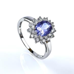 Alexandrite Ring Princess Kate Style