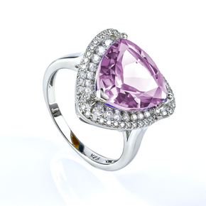 Huge Alexandrite Silver Ring