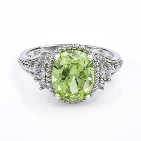 Beautiful Oval-cut Zultanite Ring