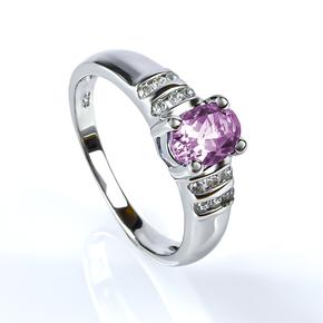 Alexandrite Ring Oval Cut Stone