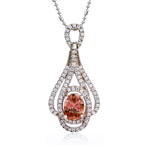 Oval Cut Zultanite Silver Pendant Collection Piece