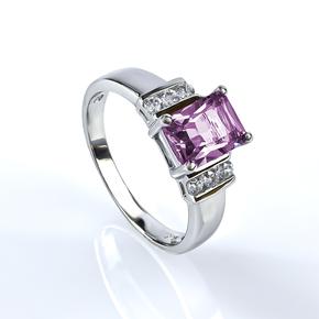 Silver Alexandrite Ring