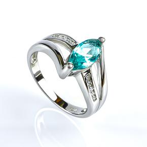 Marquise Cut Paraiba Ring