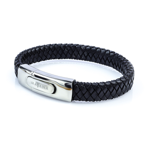 Stainless Steel Leather Bracelet