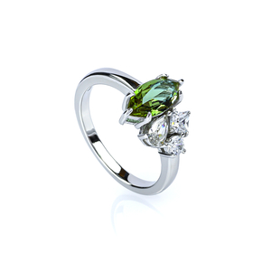 Zultanite Solitaire Ring Marquise Cut Stone