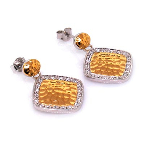 Inspired Earrings Gold Plated