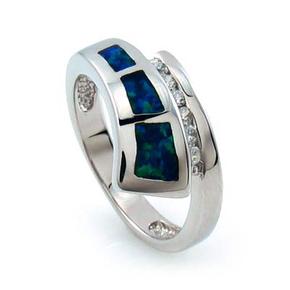 Stylish Australian Opal Ring