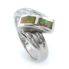 Australian Pink Opal Stylish Ring