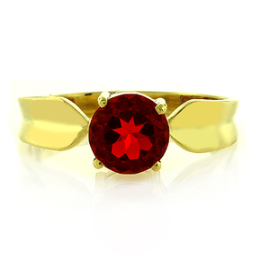 Very High Quality Genuine Mexican Cherry Fire Opal Ring