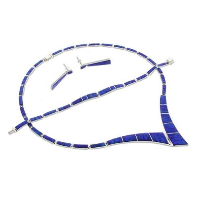 Amazing Necklace Bracelet Earrings Set