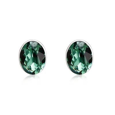 Gorgeous Green Swarovski Earrings