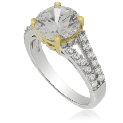 ENGAGEMENT SILVER RING