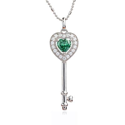 Key Alexandrite Sterling Silver Pendant