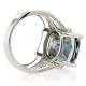 Mystic Fire Topaz Jewelry Rings