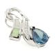 Alexandrite and Australian White Opal Color Change Pendant