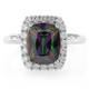High Quality Mystic Topaz Sterling Silver Ring