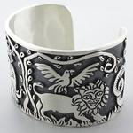 Handmade Jungle Cuff Bracelet Bangle